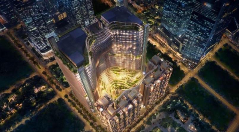 Phối cảnh dự án Centa Park - Tân Bình