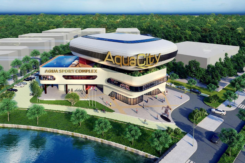 Trung tâm thể thao đa năng Aqua Sport Complex của dự án aqua city