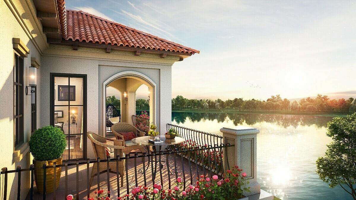 Không gian sống sinh thái với những đặc quyền riêng tư đẳng cấp tại biệt thự Grand River View Villa của dự án Aqua City.