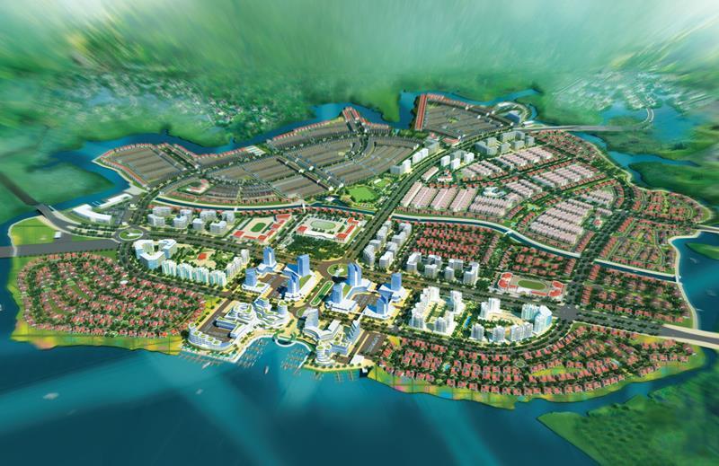Quy mô khủng dự án Aqua City