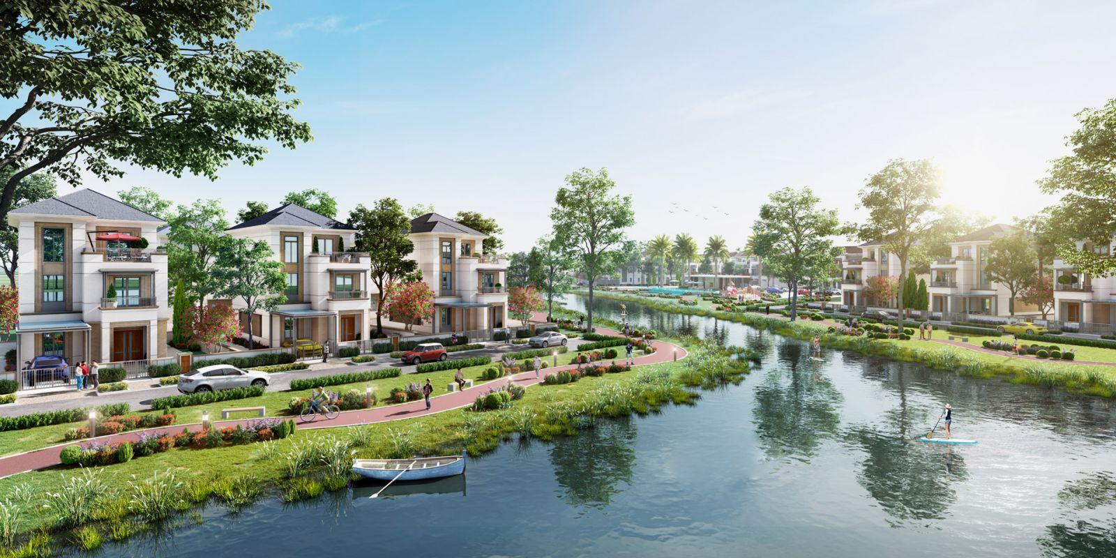 Dự án Aqua City dành nhiều tâm huyết cho năng lượng xanh