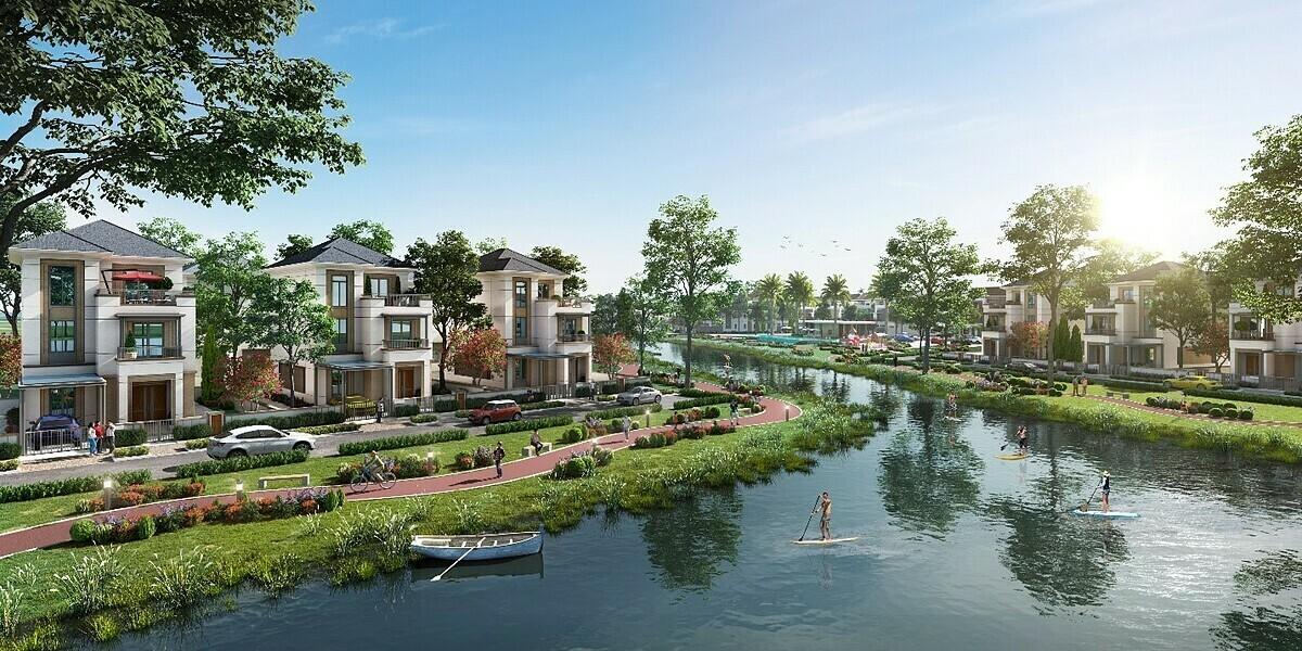 Không gian sống chan hoà thiên nhiên của dự án Aqua City