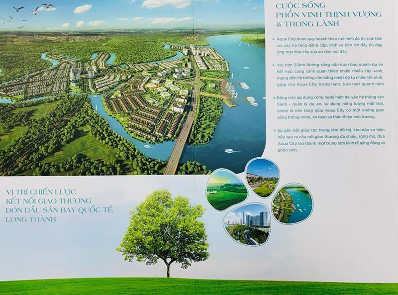 """Dự án Aqua City """" Đắc địa về vị trí, đắc giá về tầm nhìn"""""""