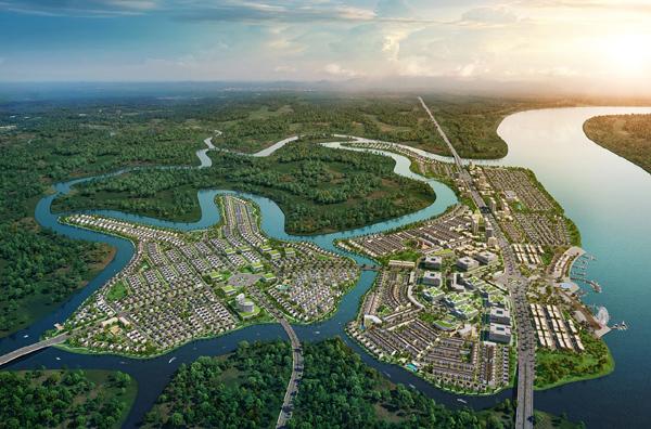 Khu đô thị sinh thái Dự án Aqua City
