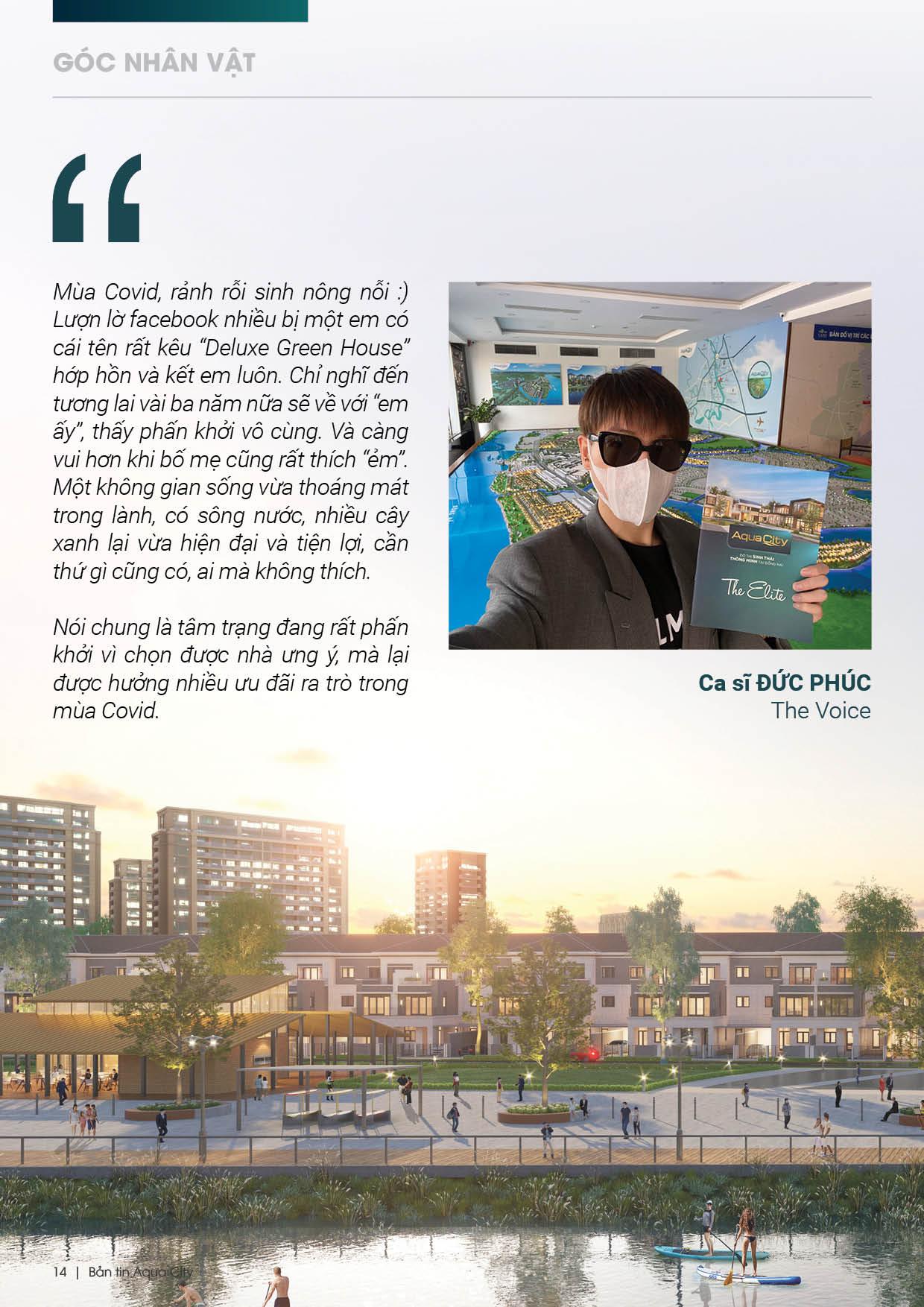 Khách hàng nói gì về dự án aqua city