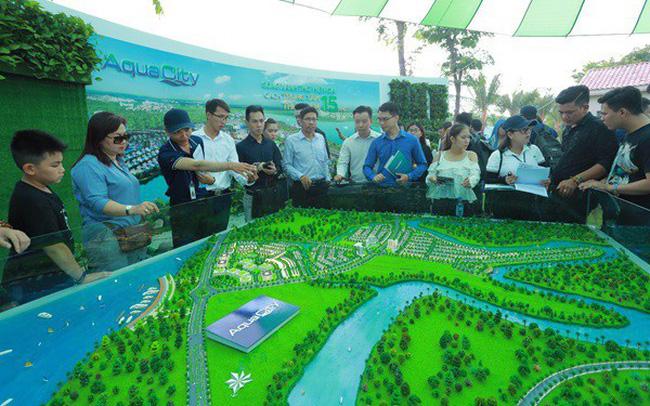 Dự án Aqua City thu hút nhiều khách hàng ngay trong buổi ra mắt
