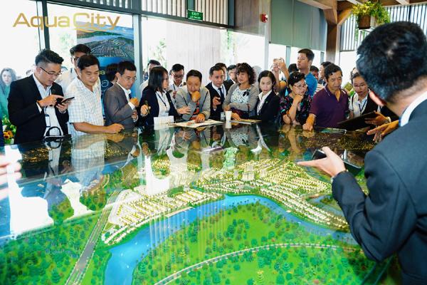 Dự án Aqua City thu hút khách hàng và nhà đầu tư