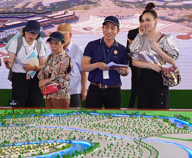 Dự án Aqua City tại triển lãm Nova Expo