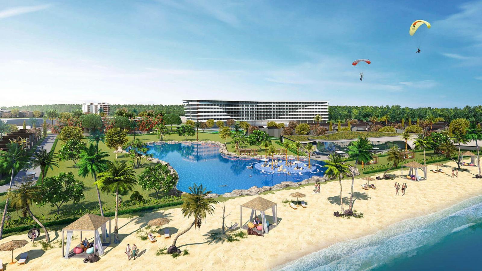 Sự xuất hiện của nhiều dự án du lịch nghỉ dưỡng lớn khiến giá nhà đất Bà Rịa - Vũng Tàu tăng mạnh trong những năm qua. Ảnh minh họa