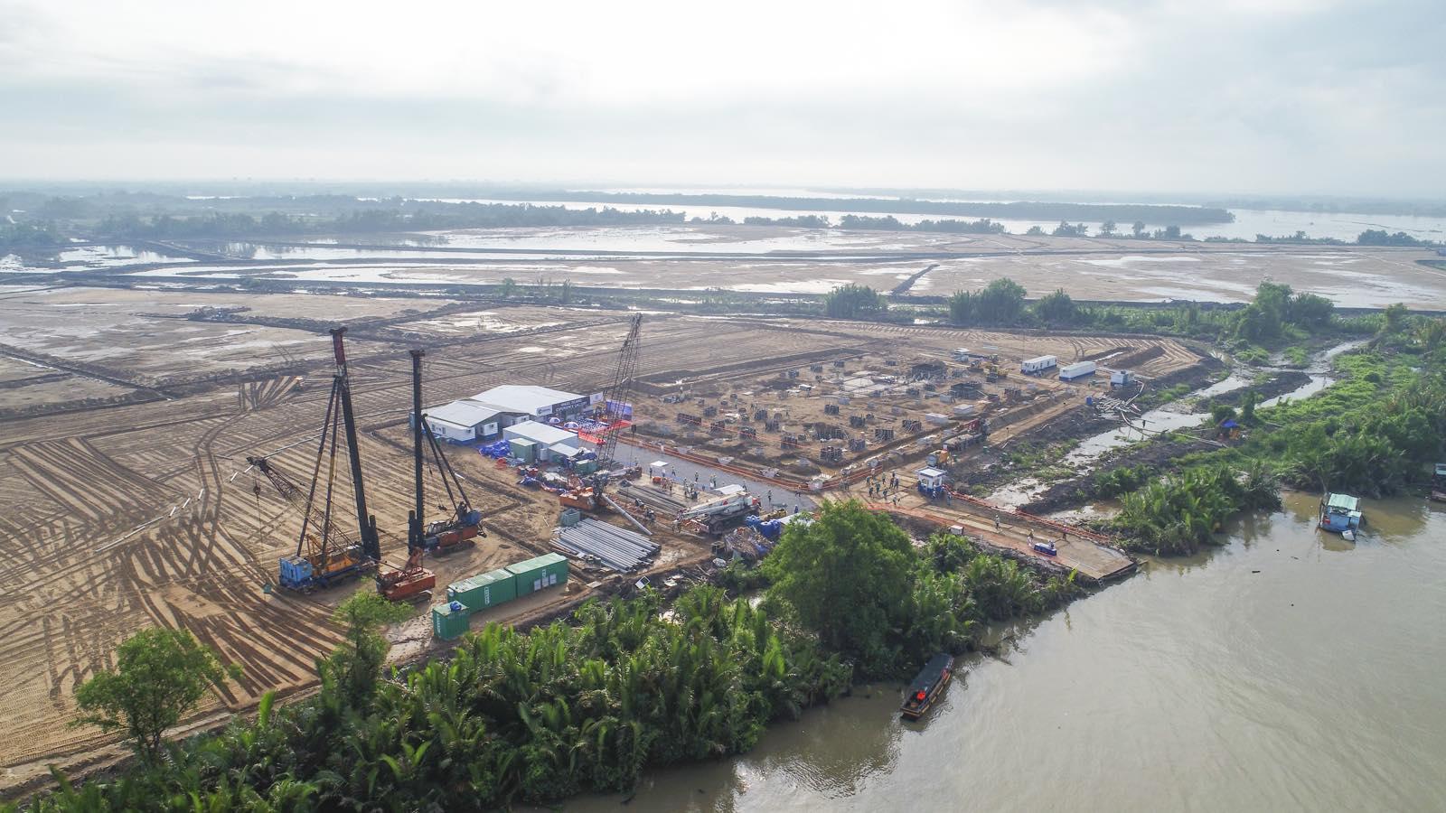 Hình ảnh thực tế từ dự án khu đô thị Nhơn Phước