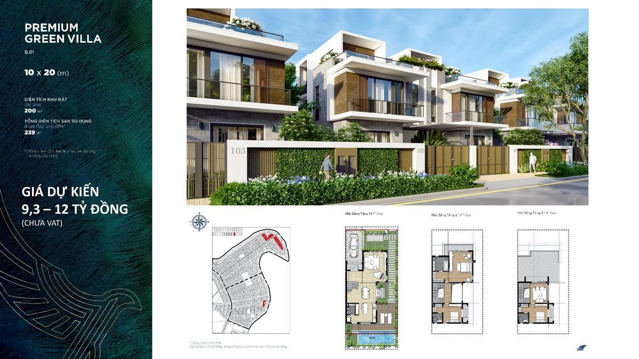 Thiết kế chi tiết dự án Aqua City Đảo Phụng Hoàng