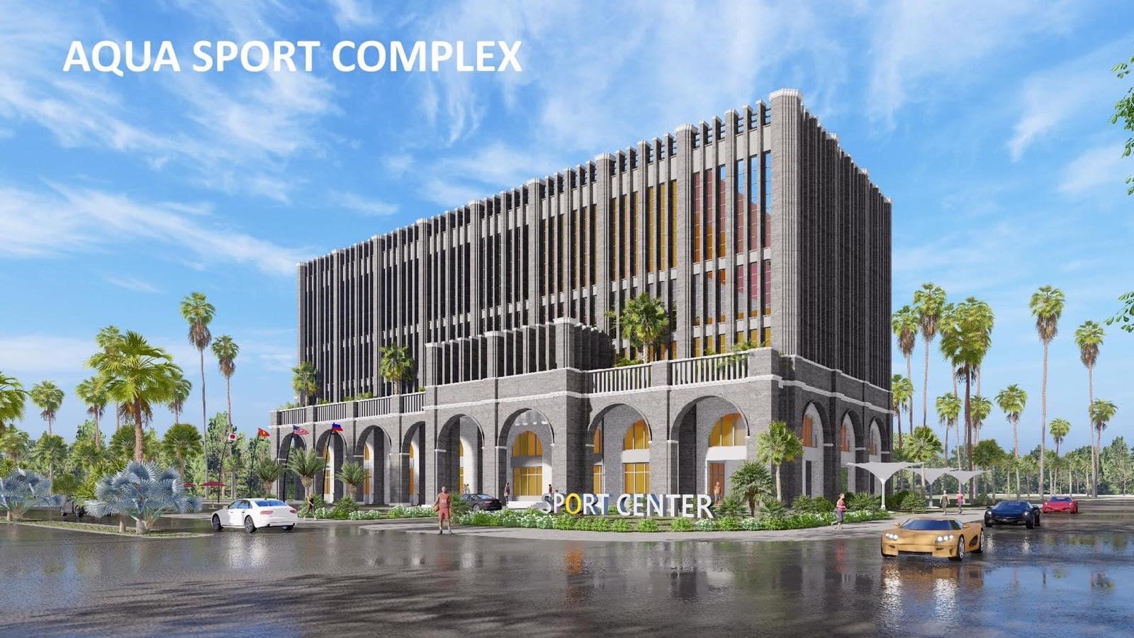 Trung tâm thể thao thể thao đa năng Aqua Sport Complex