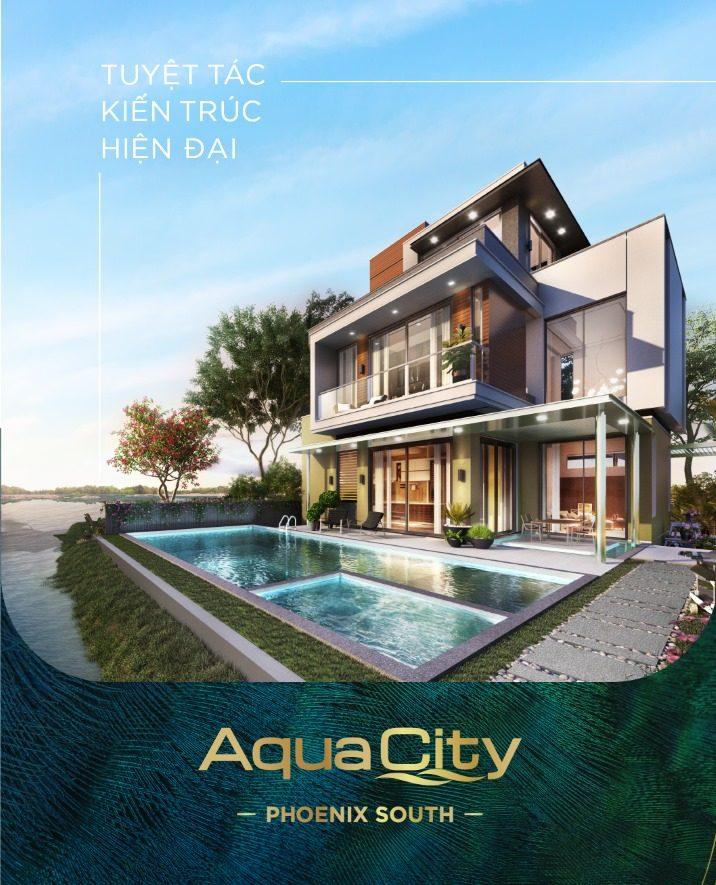 Tuyệt tác kiến trúc của AquaCity đảo Phụng Hoàng (The Phoenix)