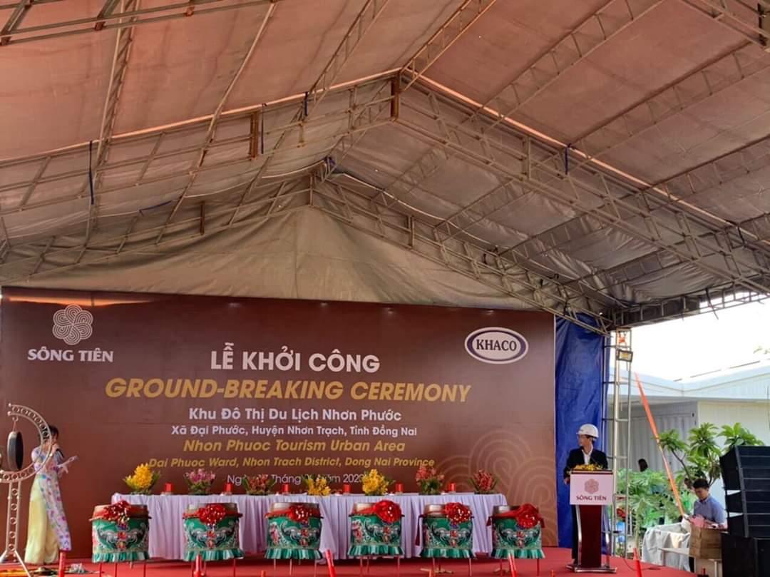 Lễ khởi công xây dựng dự án khu đô thị Nhơn Phước