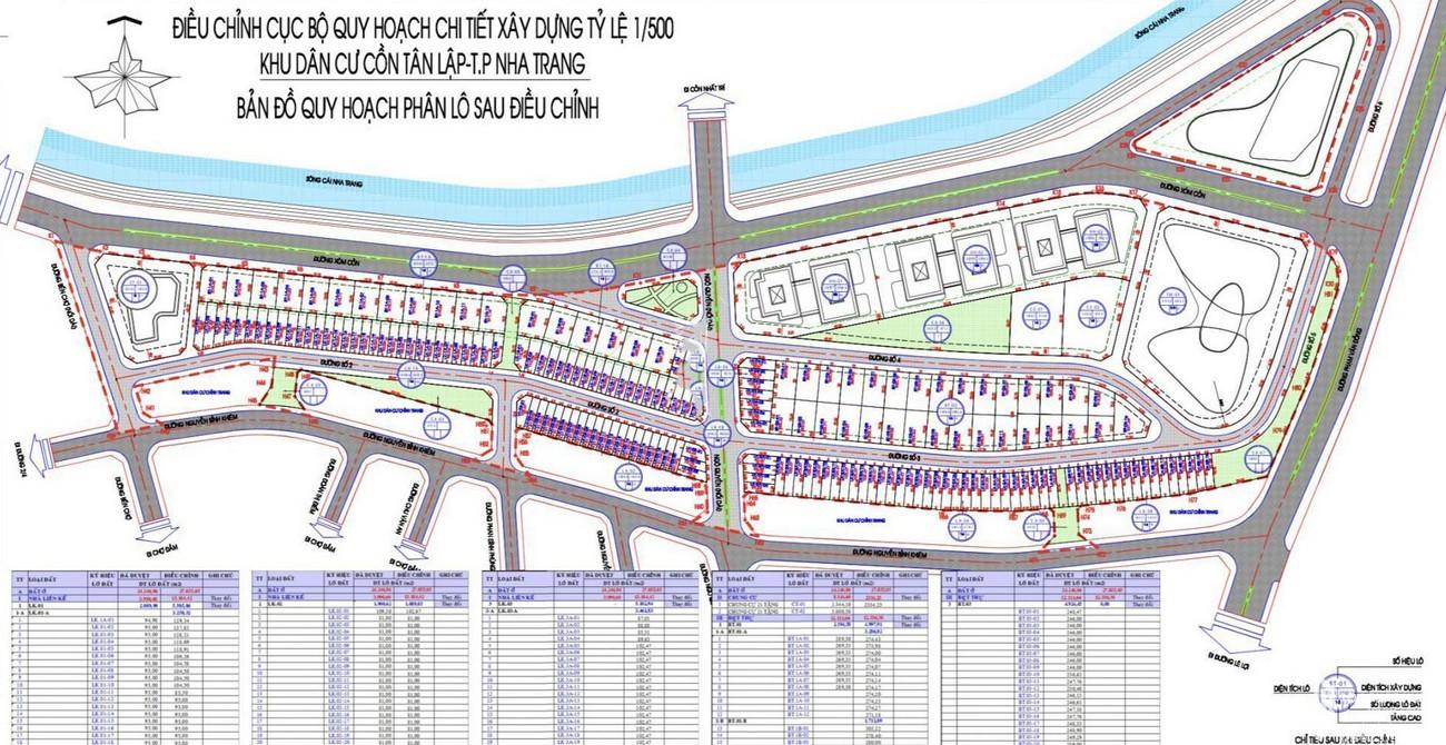 Mặt bằng dự án The Aston Nha Trang Đường Xóm Cồn chủ đầu tư DKRH