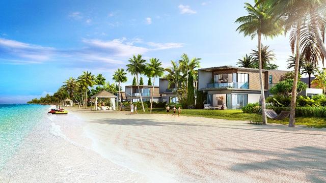 khu biệt thự ven biển đẳng cấp dự án Novaworld Hồ Tràm