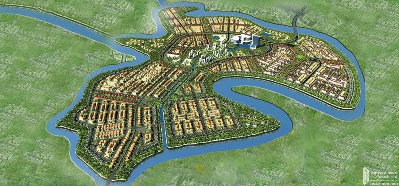 Phối cảnh tổng thể dự án Aqua City Đảo Phụng Hoàng The Phoenix South Biên Hòa Đồng Nai chủ đầu tư NovaLand