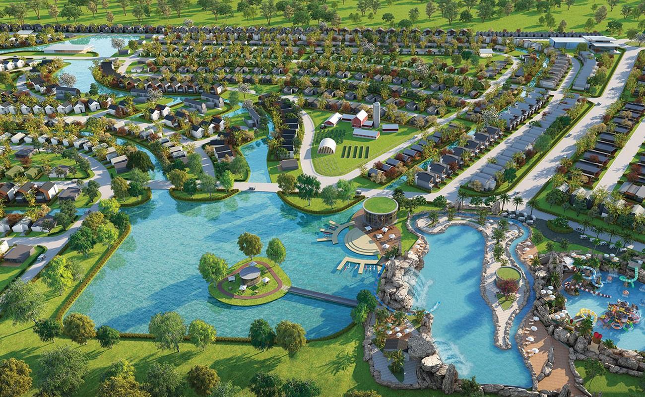 Phối cảnh tổng thể dự án nhà phố Novaworld Hồ Tràm