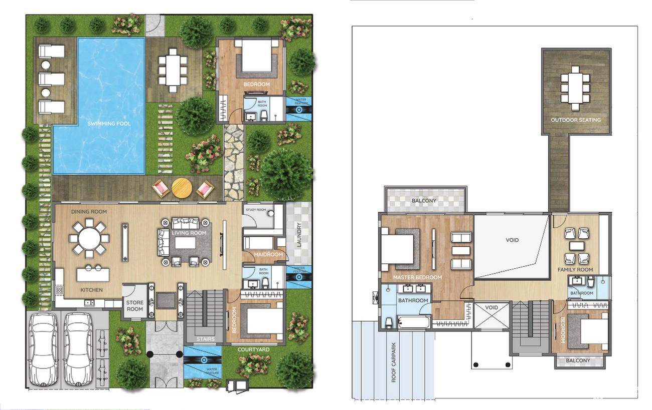 Thiết kế dự án nhà phố Aqua City đảo Phụng Hoàng