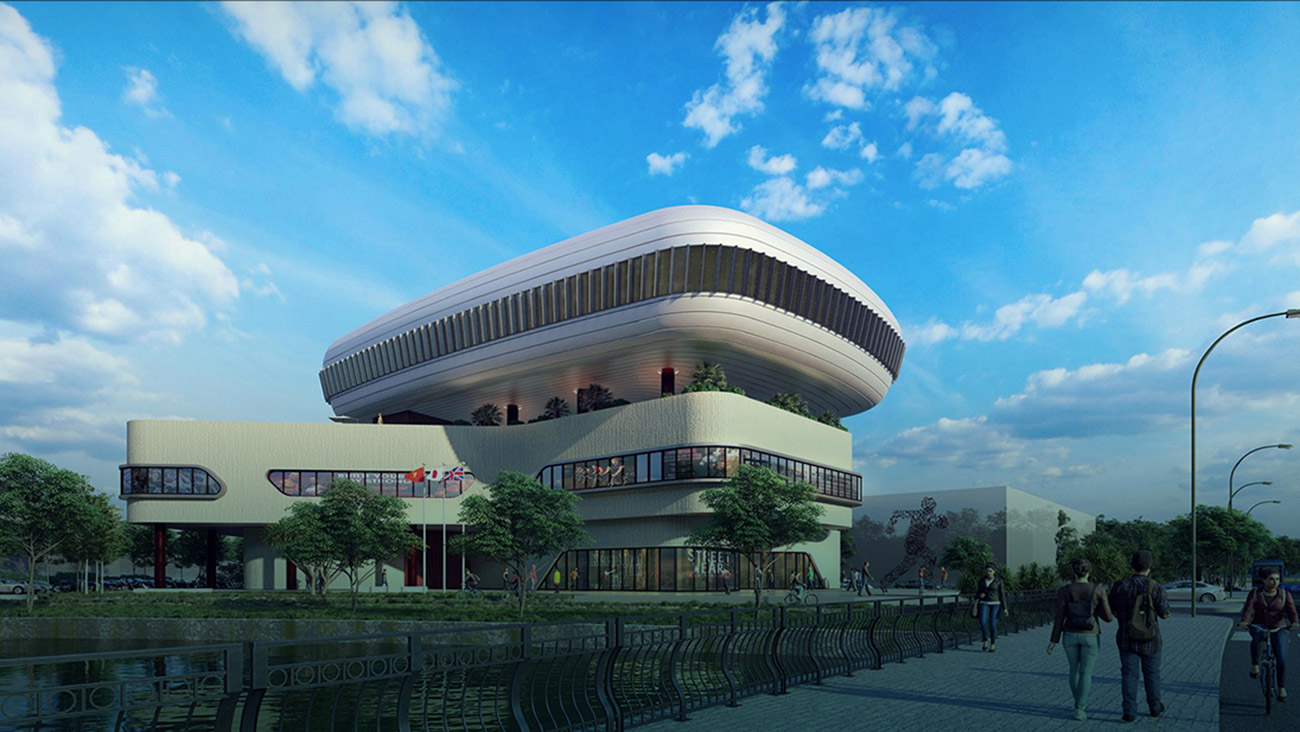 Aqua Sport Center tại dự án Aqua City Đảo Phụng Hoàng Đồng Nai