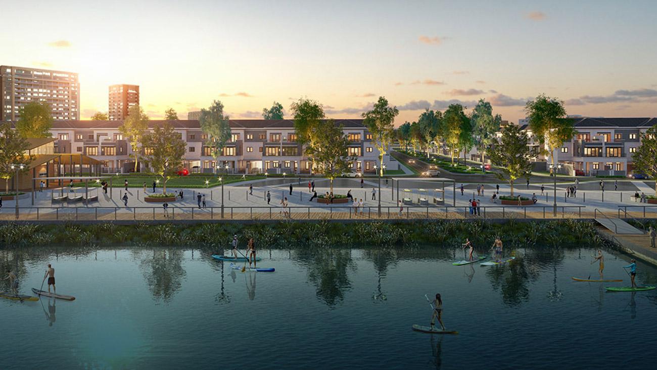 Bến du thuyền đẳng cấp tại dự án Aqua City Đảo Phụng Hoàng Đồng Nai