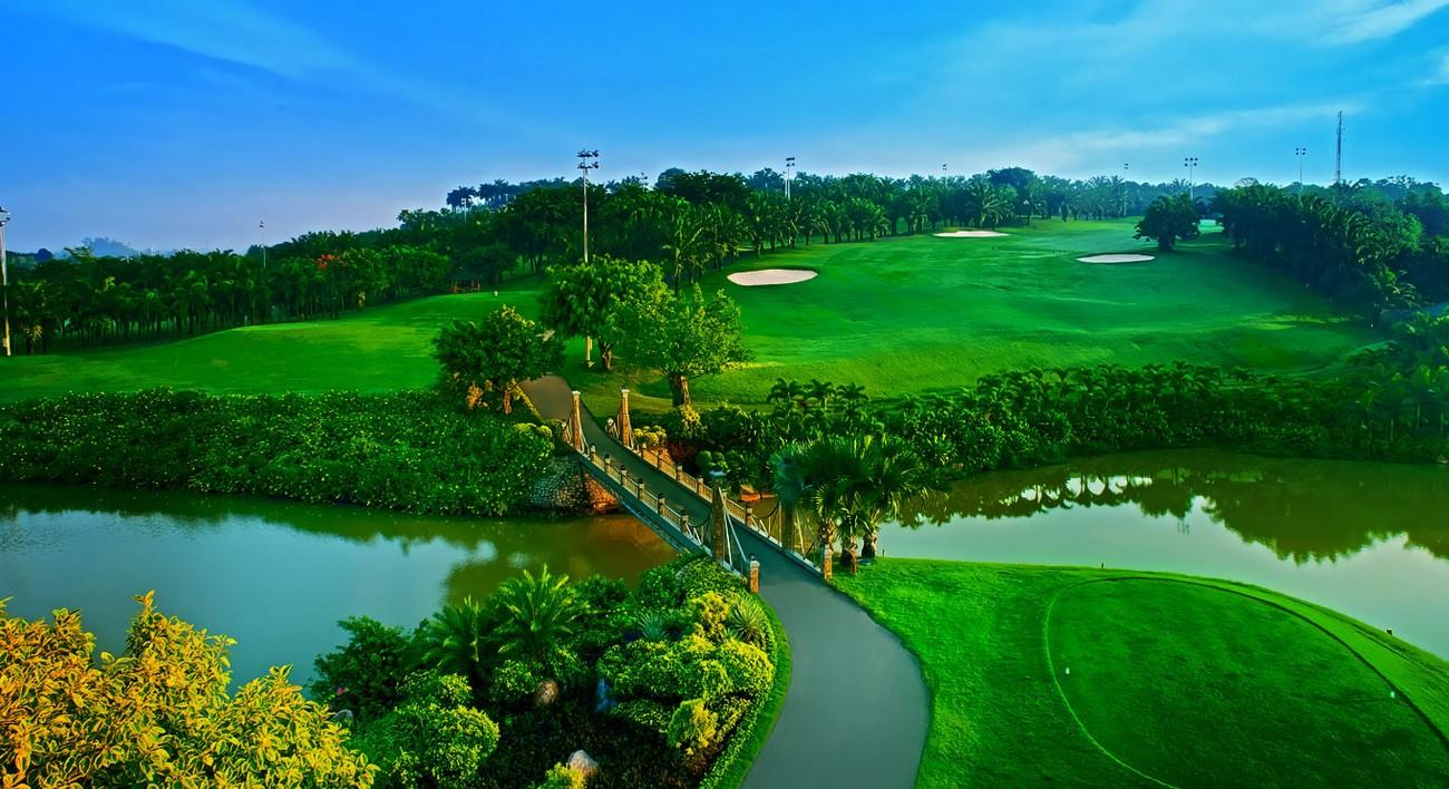 Sân Golf 36 lỗ Long Thành tiếp giáp dự án Aqua City