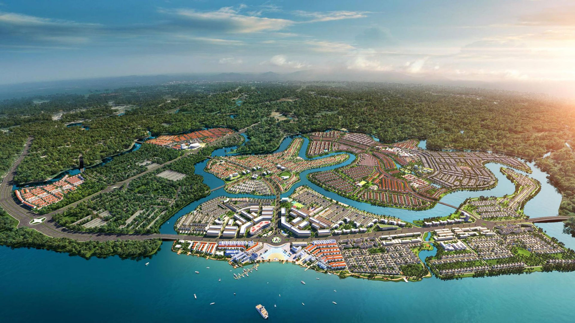 tổng quan về dự án Aqua City đảo Phụng Hoàng