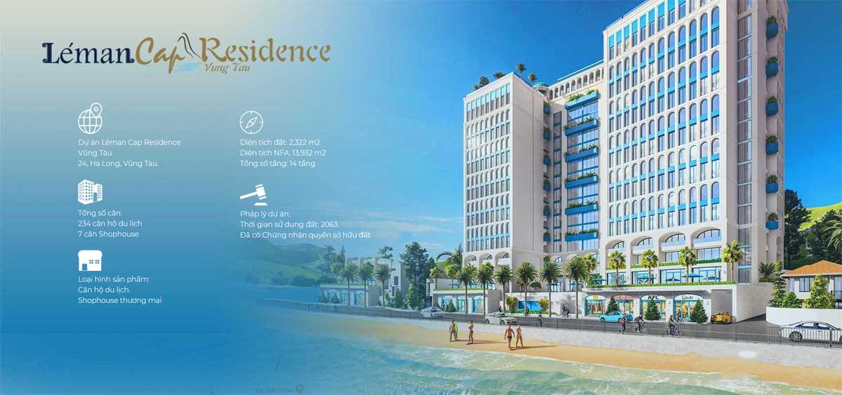 Tổng thể Dự án Léman Cap Residence Vũng Tàu