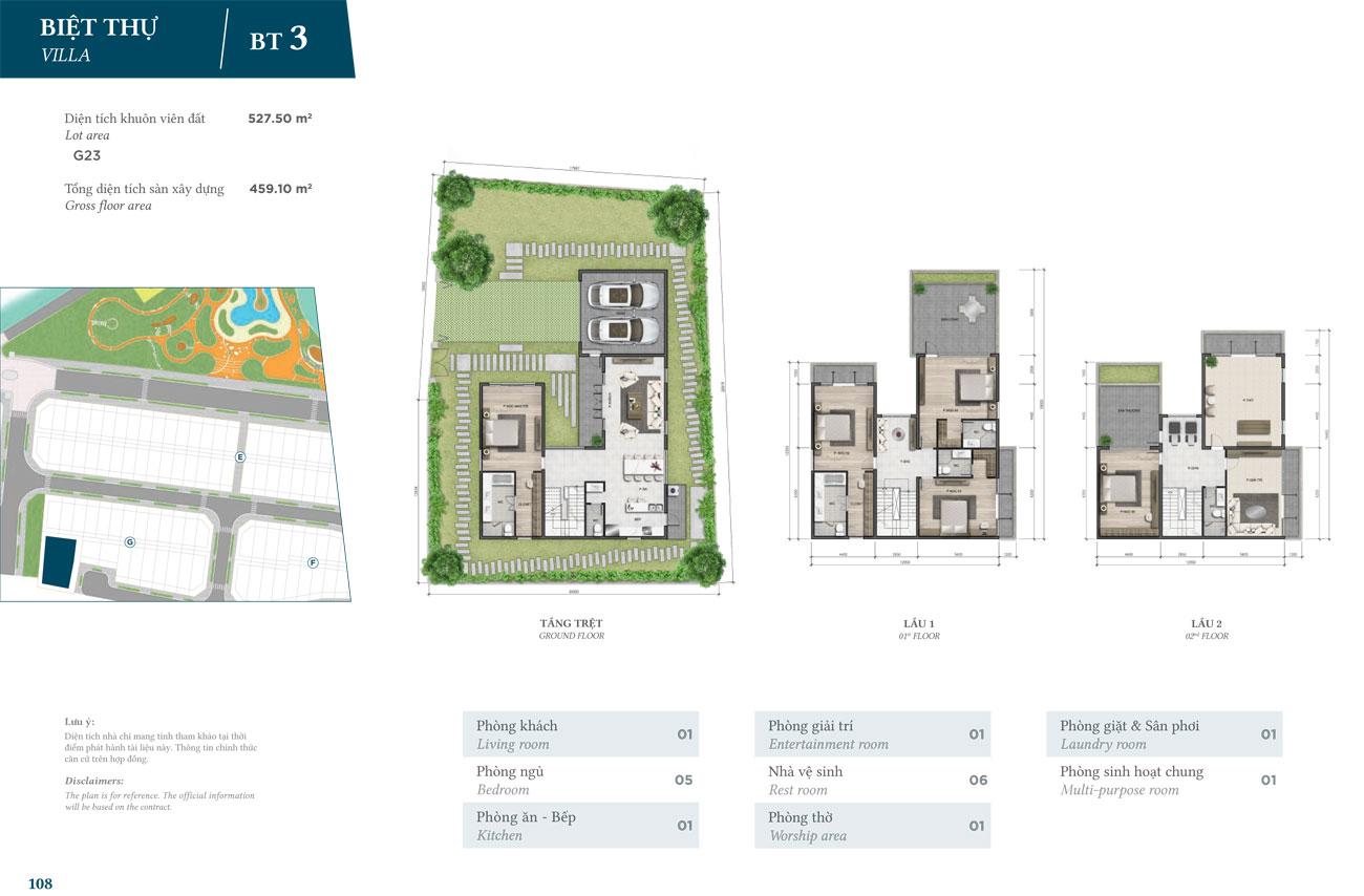Thiết kế Biệt Thự dự án Verosa Park Khang Điền