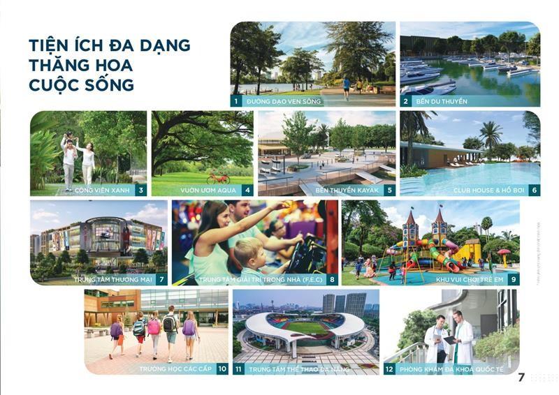 Tiện ích dự án Aqua City đảo Phụng Hoàng