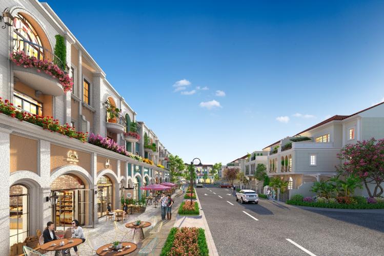 Shophouse phân khu River Park 1 vừa thỏa mãn nhu cầu an cư đẳng cấp, vừa đáp ứng lợi thế khai thác thương mại cho gia chủ.