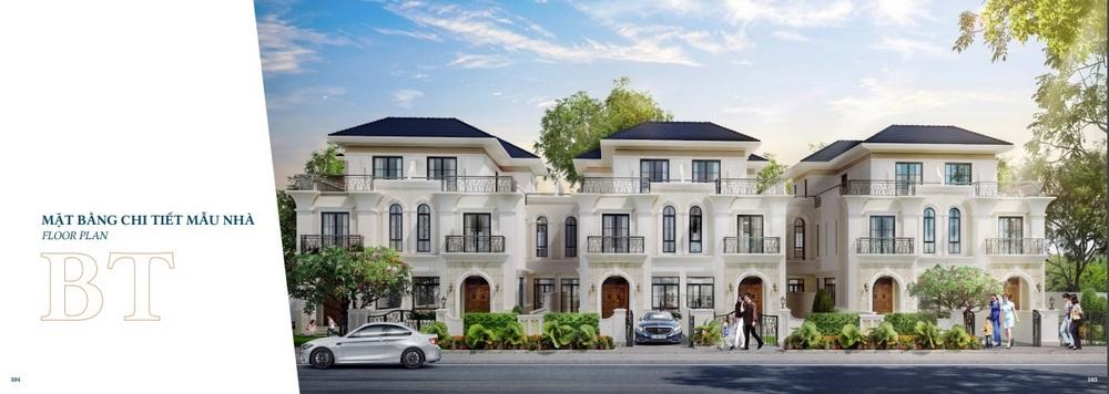 Hình ảnh mẫu nhà bệt thự Verosa Park Khang Điền
