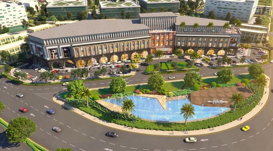 Khu mua sắm Aqua Mall tại The Valencia Aqua City