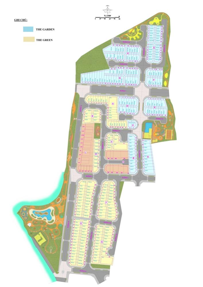 Mặt bằng dự án căn hộ Verosa Park Khang Điền quận 9