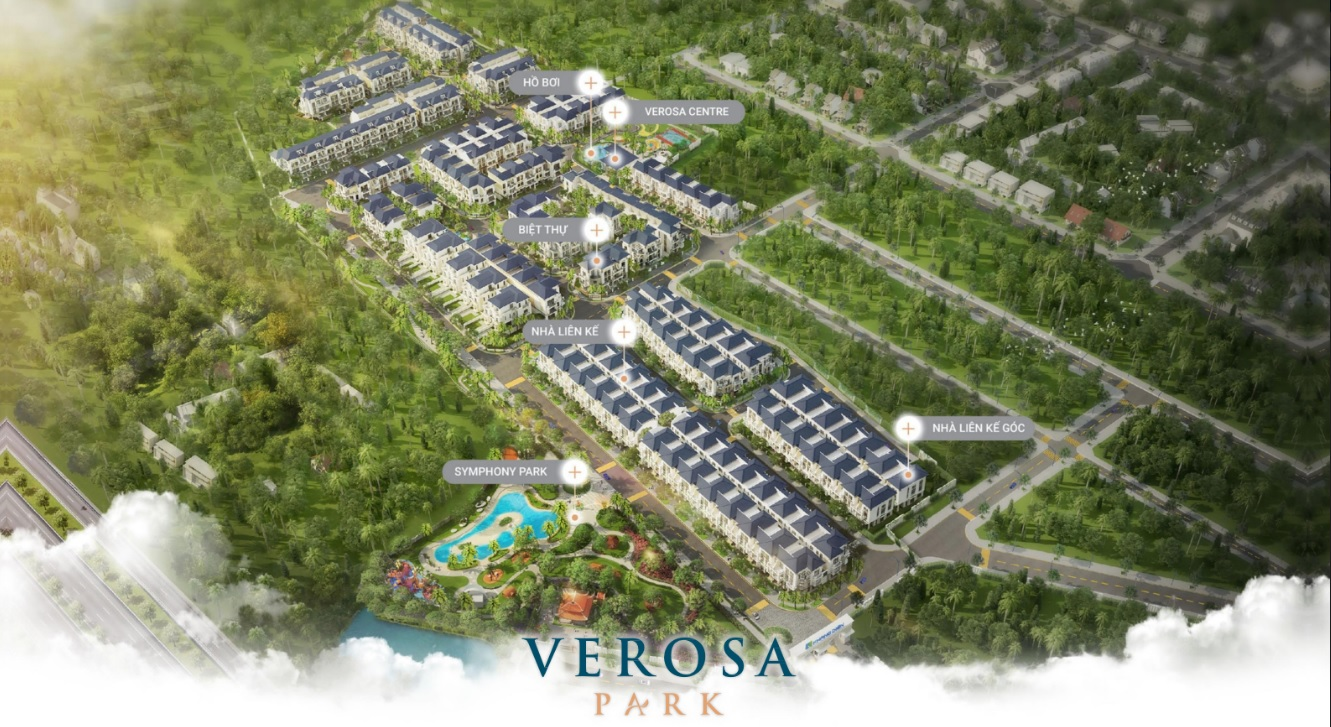 Mặt bằng tổng quan Verosa Park Khang Điền Quận 9