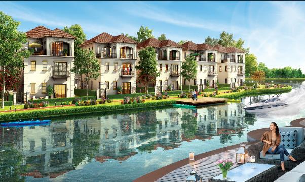 Không gian sống xanh tại The Valencia Aqua City