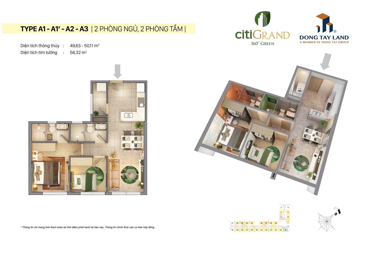 Thiết kế chi tiết của dự án Citi Grand