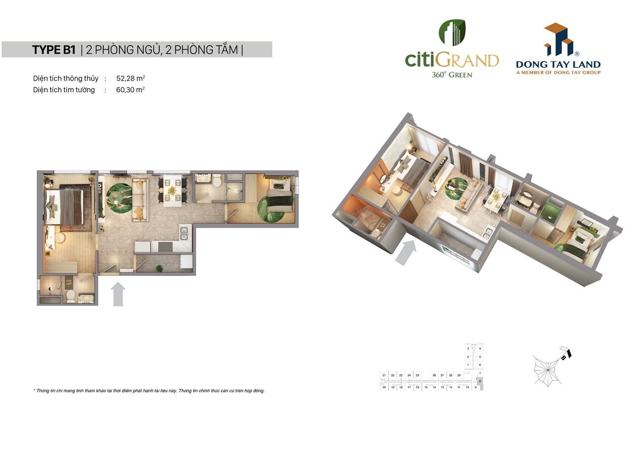 Thiết kế dự án căn hộ Citi Grand Quận 2