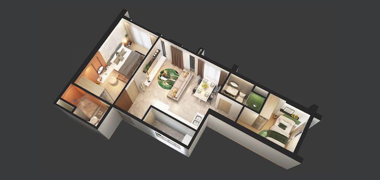 Thiết kế chi tiết căn hộ mẫu tại Citi Grand Quận 2