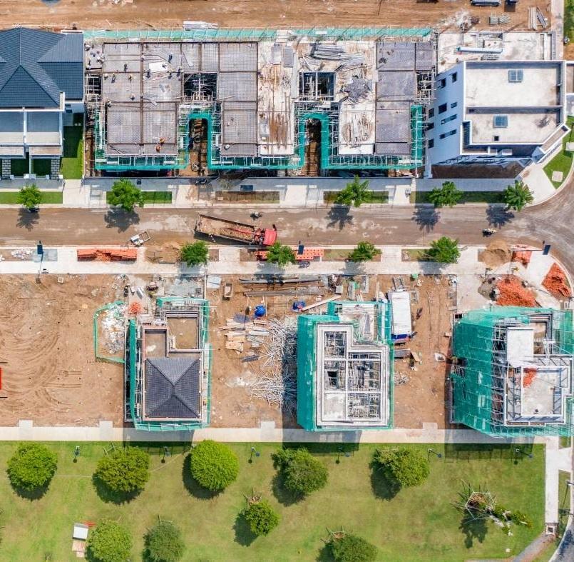 Tiến độ dự án Aqua City – Phân khu The Suite đang chuẩn bị hoàn thiện