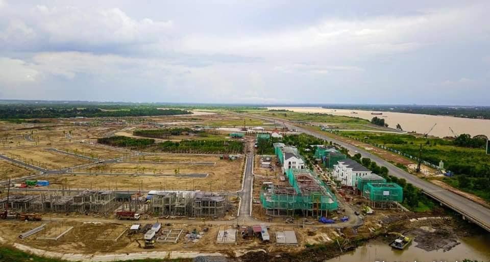 Tiến độ dự án Aqua City tháng 8/2020