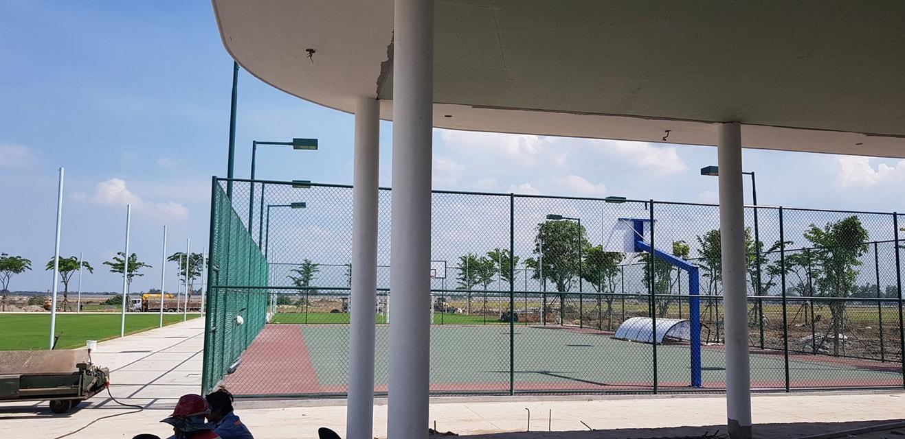 iến độ thi công khu tiện ích Aqua City Aqua Sport Complex
