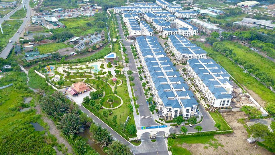 Môi trường sống trong lành, yên tĩnh, hạ tầng khang trang tại dự án Verosa Park
