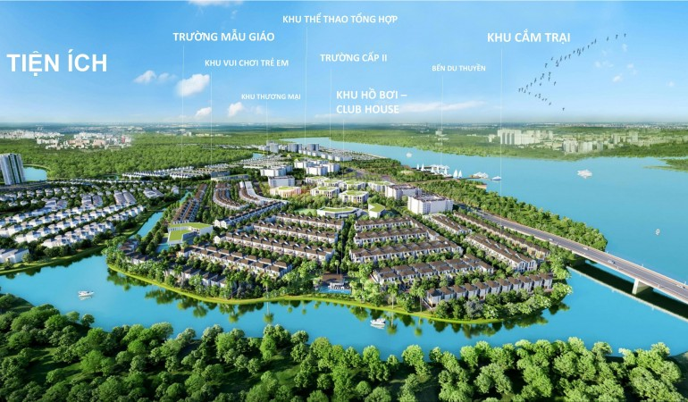 Tiện ích nổi trội của dự án aqua city