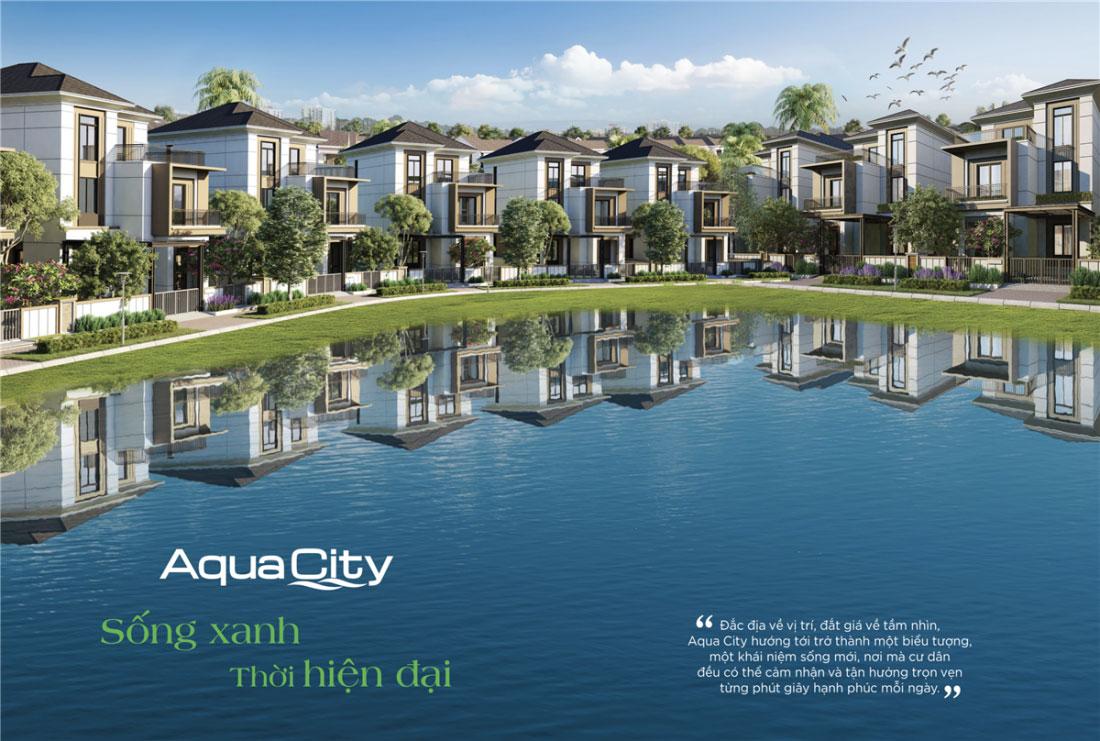 Dự án Aqua City với thiết kế Địa Trung Hải độc đáo