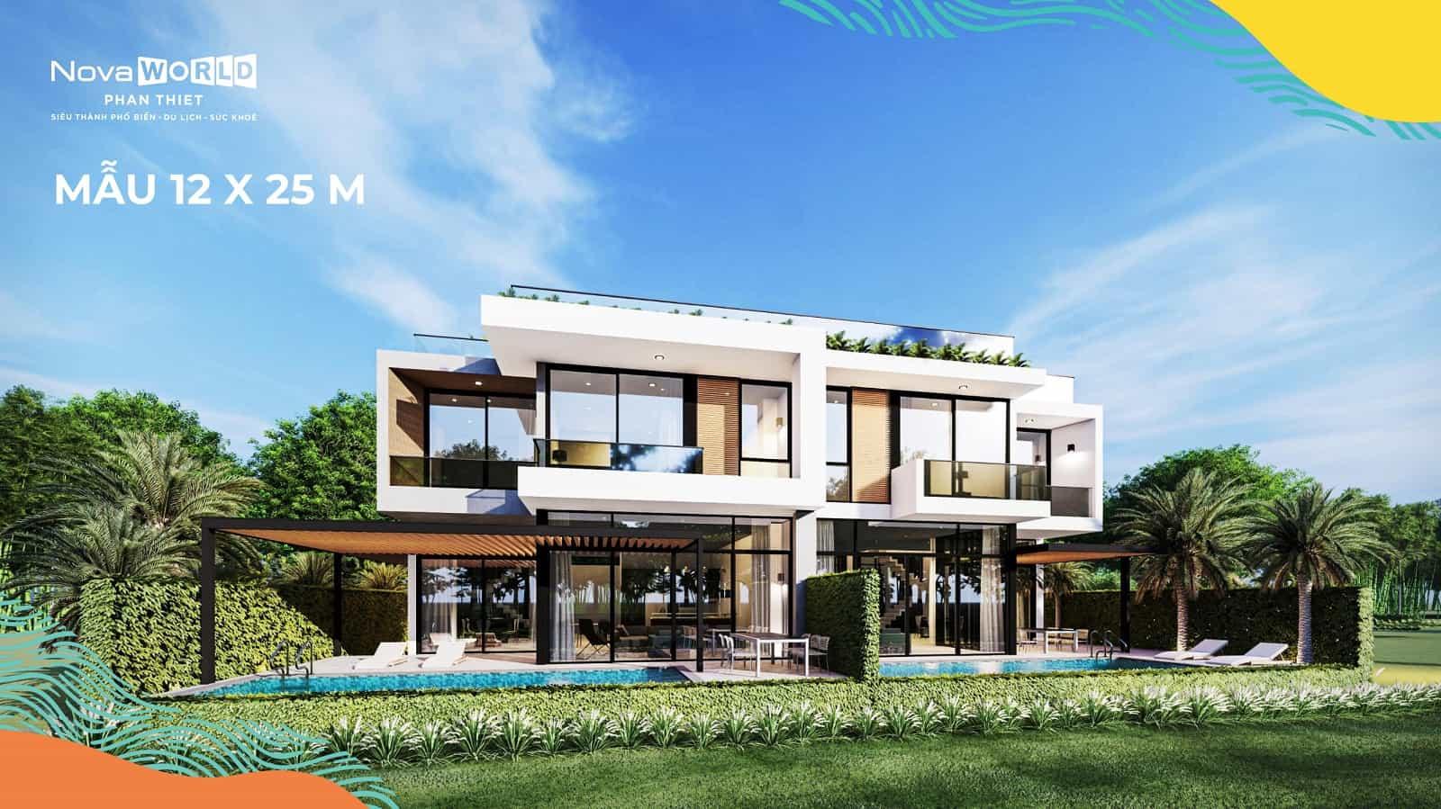Nhà mẫu dự án khu đô thị Novaworld Phan Thiết