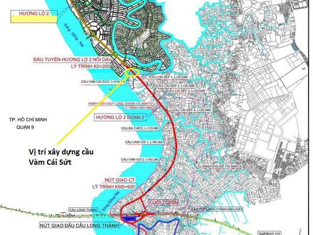 Tiềm năng giá trị của Aqua City khi cầu Vàm Cái Sứt 224 tỉ khởi công T9/2020