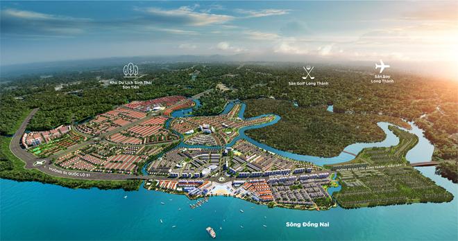 Tập đoàn Novaland đẩy mạnh đầu tư các tiện ích hiện đại cho khu đô thị sinh thái Aqua City