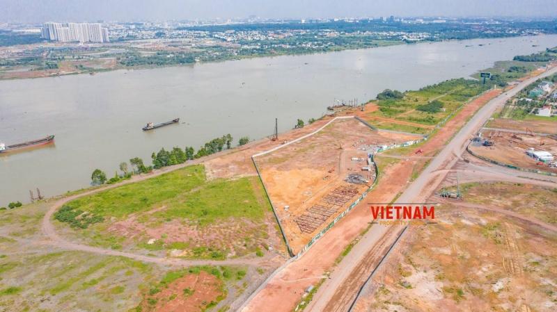 Toàn cảnh dự án Aqua City tháng 8/2020