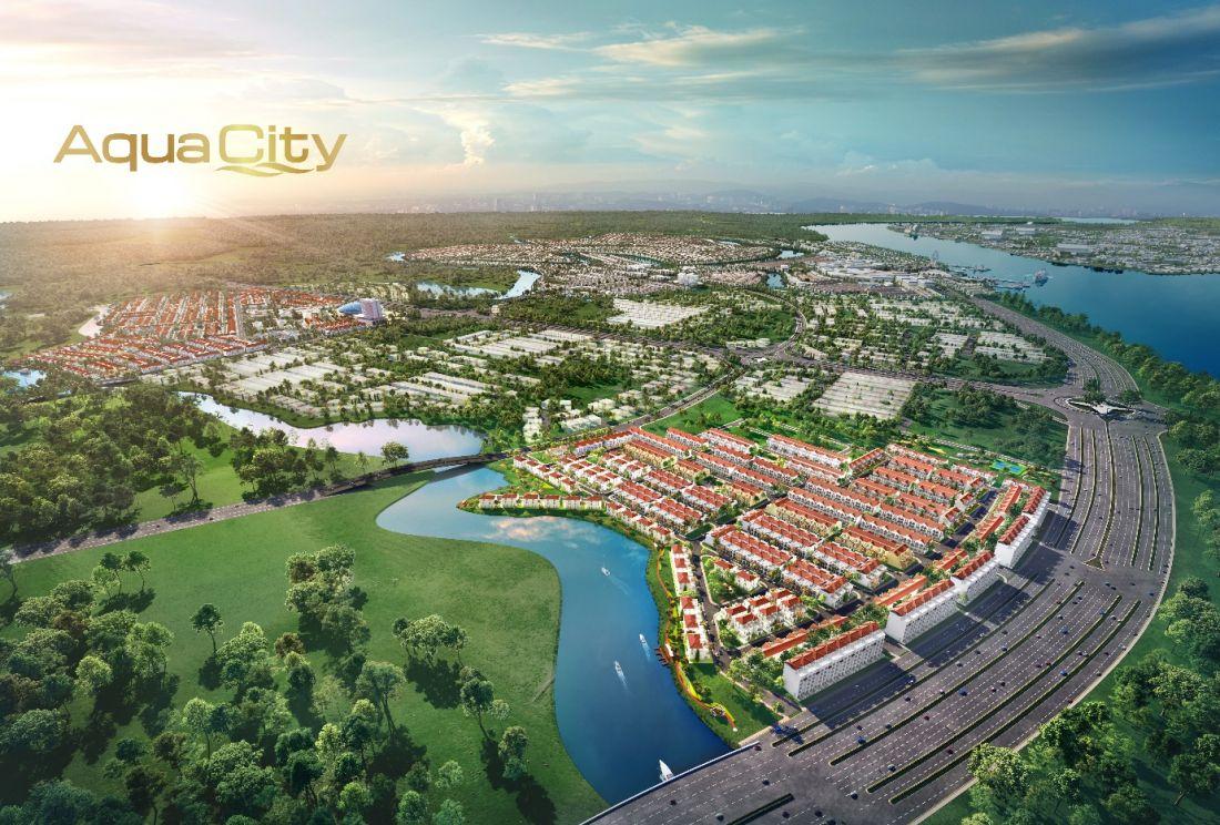 Phân khu River Park 1 Aqua City với lợi thế vì là trung tâm của kết nối giao thương
